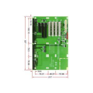 PBPE-08P41 : 8 slots PCI-E x16 backplane