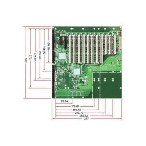 PBPE-14AD64 : PICMG 1.3 Industrial Backplane