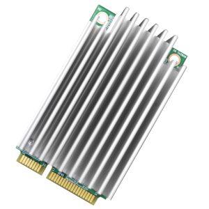 AIBooster-L1/L2 Intel® Movidius™ Myriad X VPU mPCIe Deep Learning Accelerator Card